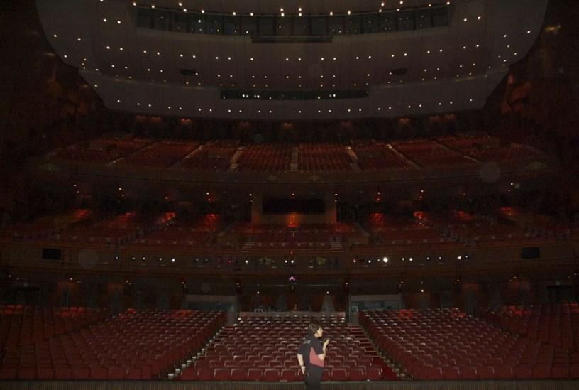 Korea-Gastspiel: DIE KAMELIENDAME - Das Sejong Center vor der Vorstellung