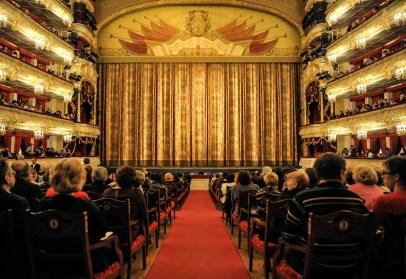 Der Zuschauerraum während der Premiere