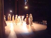 """Japan Gastspiel, """"Der Widerspenstigen Zähmung"""": Die Verbeugung nach einer wunderbaren Vorstellung von """"Der Widerspenstigen Zähmung"""", Foto: Stuttgarter Ballett"""