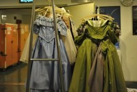 China-Gastspiel, Unsere mobile Garderobe im Shanghai Grand Theatre, Foto: Roman Novitzky
