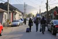 China-Gastspiel, Der Weg zum National Center for the Performing Arts führt durch ein Hutong (Wohnviertel), Foto: Roman Novitzky