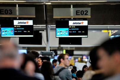 Flug von Bangkok nach Singapur