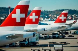 Zwischenstopp am Flughafen in Zürich