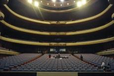 Der Zuschauerraum des Opernhauses.