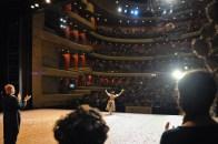 Standing Ovations für Sue Jin von ihrem sie verehrenden koreanischen Publikum.