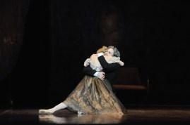 Generalprobe für Onegin: Alicia Amatriain als Tatjana, Friedemann Vogel als Onegin