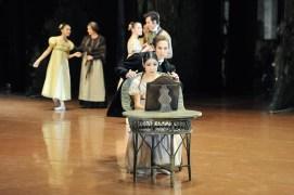 Unsere zweite Onegin Vorstellung in Tokio mit Hyo-Jung Kang als Tatjana und Roman Novitzky als Onegin