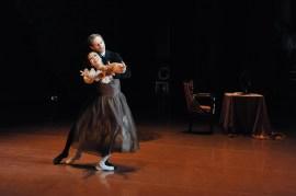 Der herzzerreißende Schluss-Pas de deux: Tatjana und Onegin