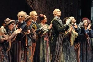 Die alten Leute im zweiten Akt
