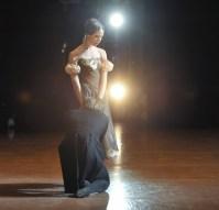 Onegin, 3. Akt: Elisa Badenes als Tatjana mit Friedemann Vogel als Onegin