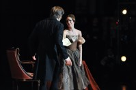 Elisa Badenes und Friedemann Vogel in Onegin