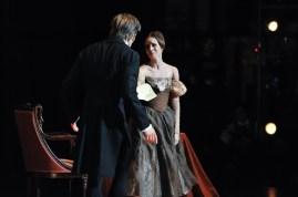 Elisa Badenes und Friedemann Vogel in Onegin