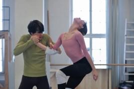 Salome Probe mit Elisa Badenes und David Moore