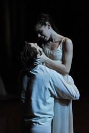 Romeo und Julia in unserer ersten Vorstellung in Beijing wurden von Elisa Badenes und David Moore getanzt