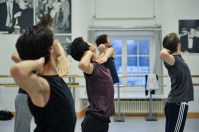 Probe zu Marco Goeckes Le Spectre de la Rose mit Alessandra Giaquinto, Adhonay Soares da Silva, Kirill Kornilov, Kieran Brooks