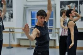 Probe zu Marco Goeckes Le Spectre de la Rose: Matteo Miccini