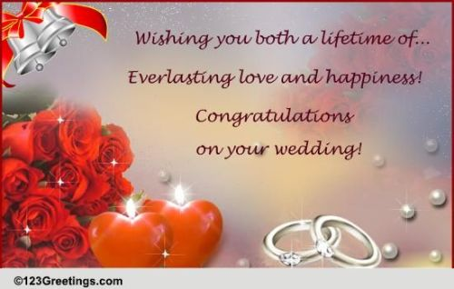 marriage wishes greetings