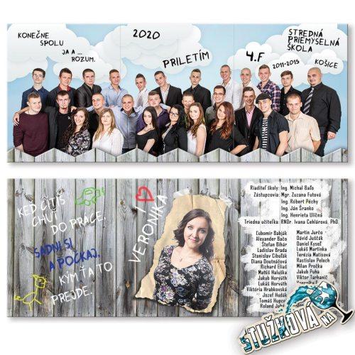 Maturitné oznamko 1422 - Za plotom