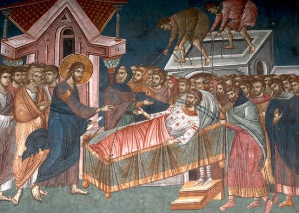 Christ heals the illness of our souls and bodies