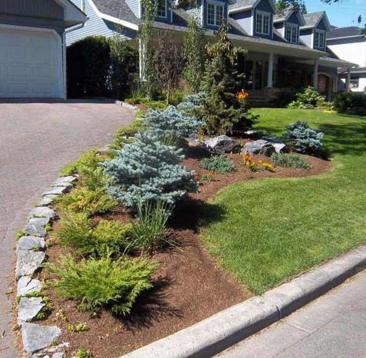 Driveway Landscaping Ideas For The Home Owners Landscape Design