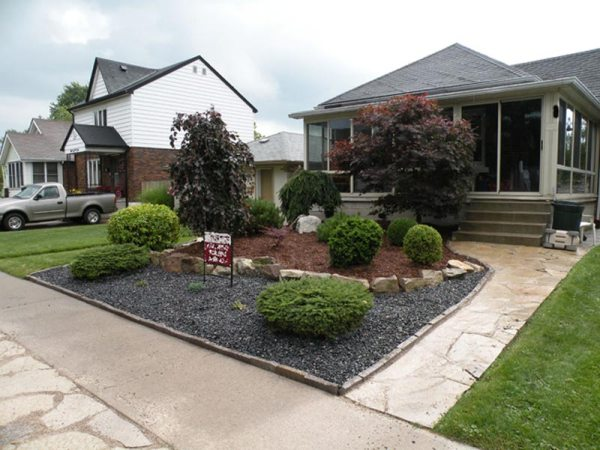 small front yard landscaping techniques