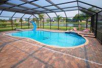 Landscaping-Around-Pool-Screen-Enclosure | Landscape Design