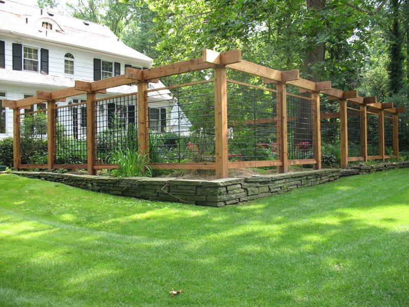 Temporary Garden Fencing Ideas Landscape Design