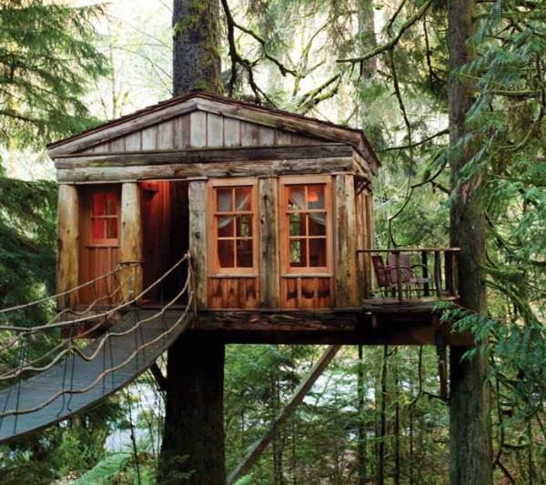 magestic treehouse cabins mohican