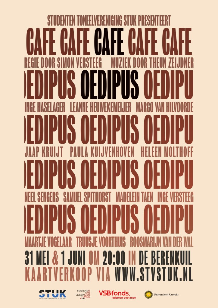 Oedipus Poster STV STUK