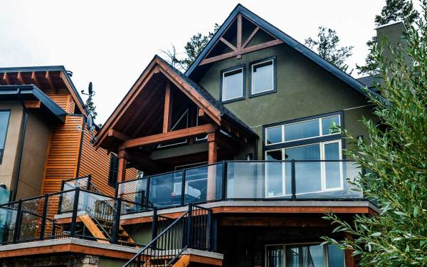 Small Footprint Timber Frame - Invermere Bc
