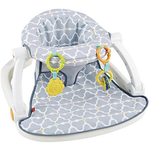 sit me up chair for babies wrought iron rocking outdoor fisher price floor seat sh t that worked us