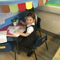 Year One had fun exploring their new classroom