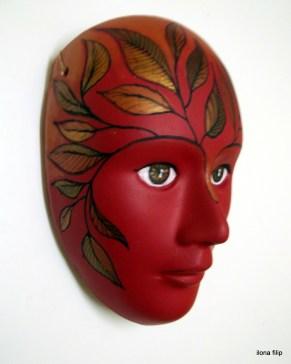 ozdoba na ścianę wykonana z porcelanowego gipsu, cena 60 zł