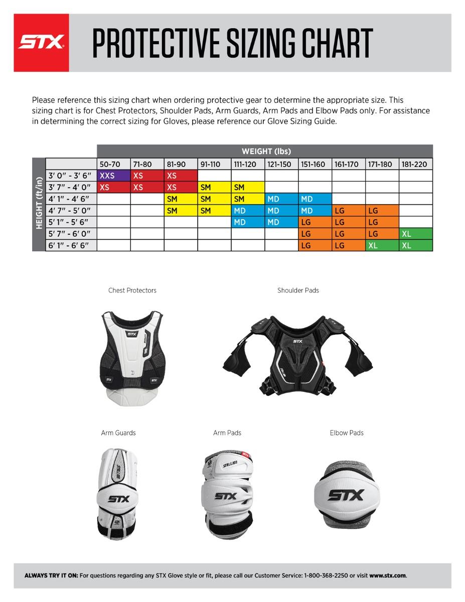 Lacrosse Helmet Size Chart : lacrosse, helmet, chart, Charts, Lacrosse