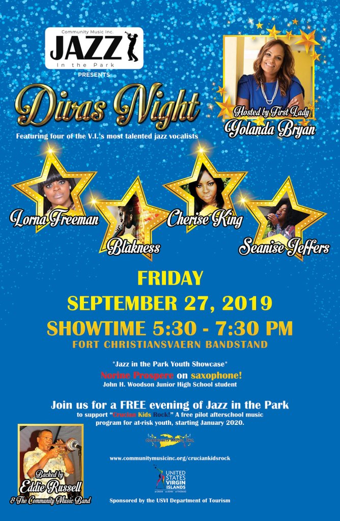 Jazz in the Park Sept 27 2019