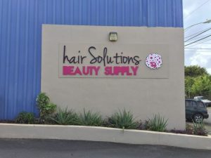 Hair Solutions Beauty Supply Storefront