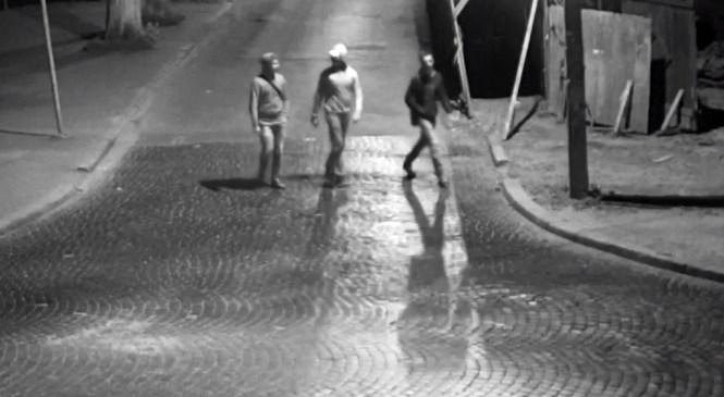 Ліхтар, який пошкодили в Коломиї троє, до цього ламав ще один невідомий (відео)