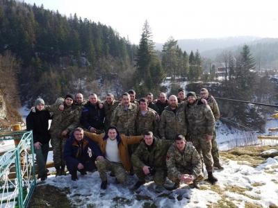 В Буковелі продовжують реабілітацію ветеранів АТО