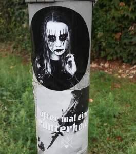 Style Against Idiots Stickeraktion