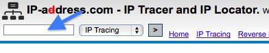 IPアドレス入力欄