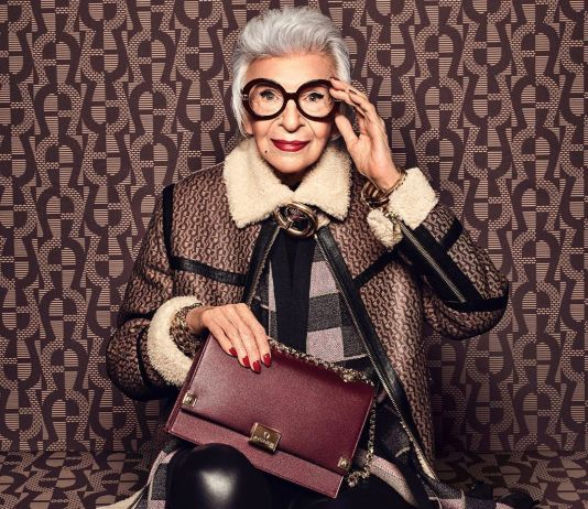 aigner enlightment fall winter campaing iris apfel