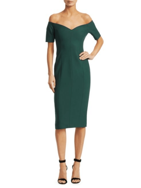 Cinq à Sept Birch Off-The-Shoulder Dress