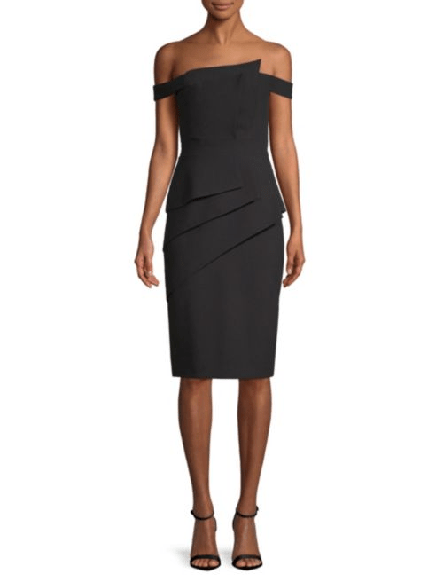 Black Halo La Reina Cocktail Dress