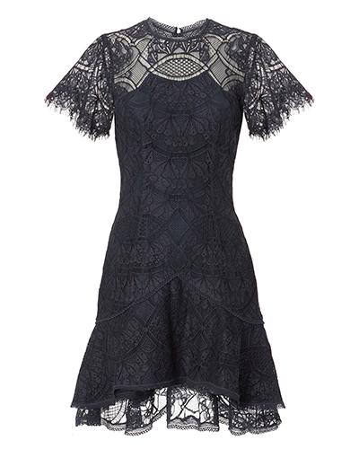 Jonathan Simkhai Flutter Lace Mini Dress
