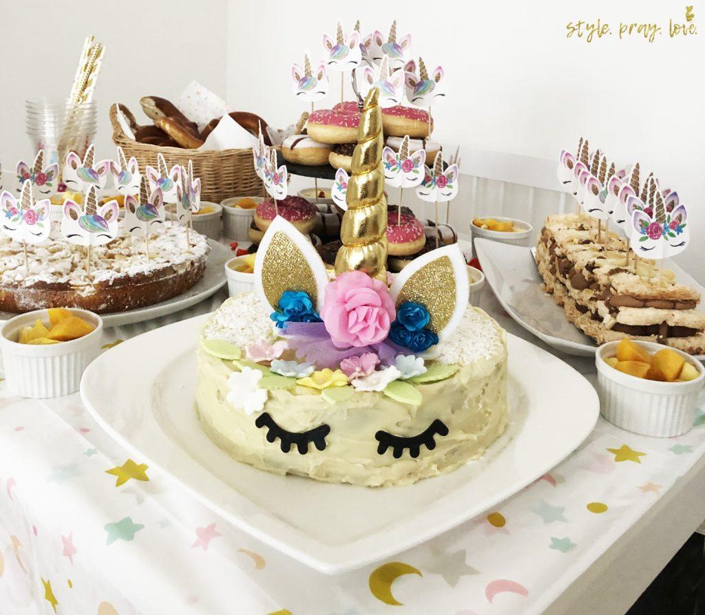 Kuchen Deko Einhorn Kuchen Deko Set Paw Patrol Partydeko Und Gunstige