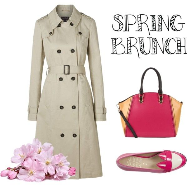 classic trench outfit