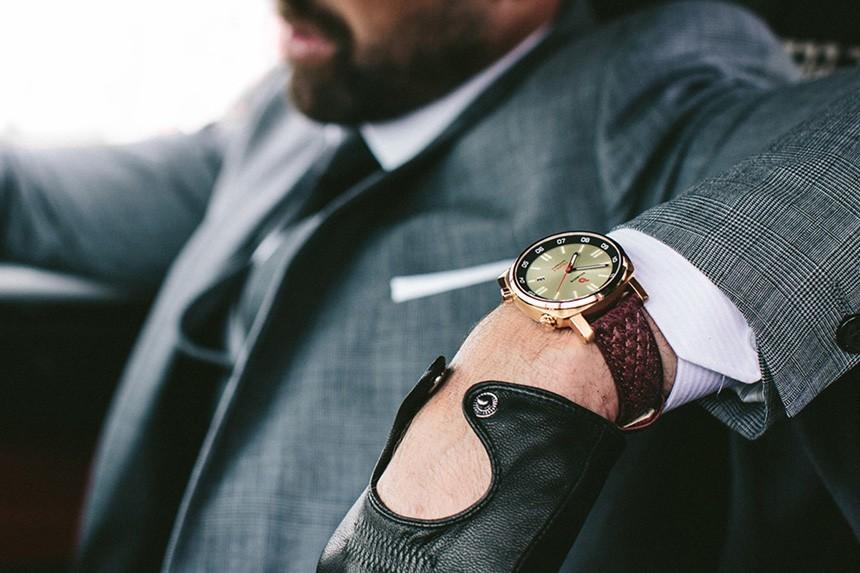 montre homme cuir