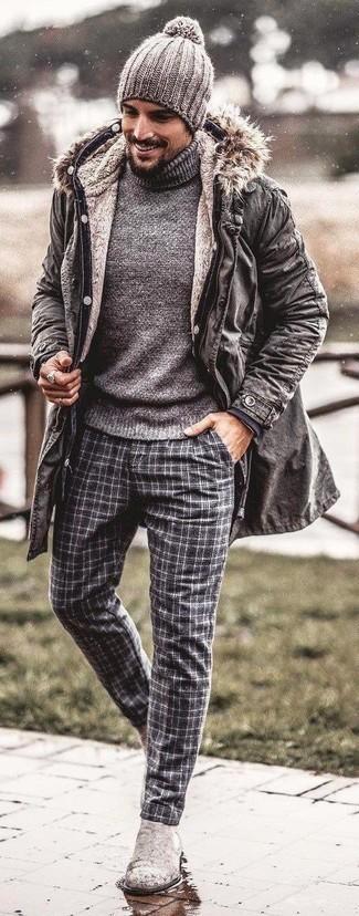 vêtements homme gris