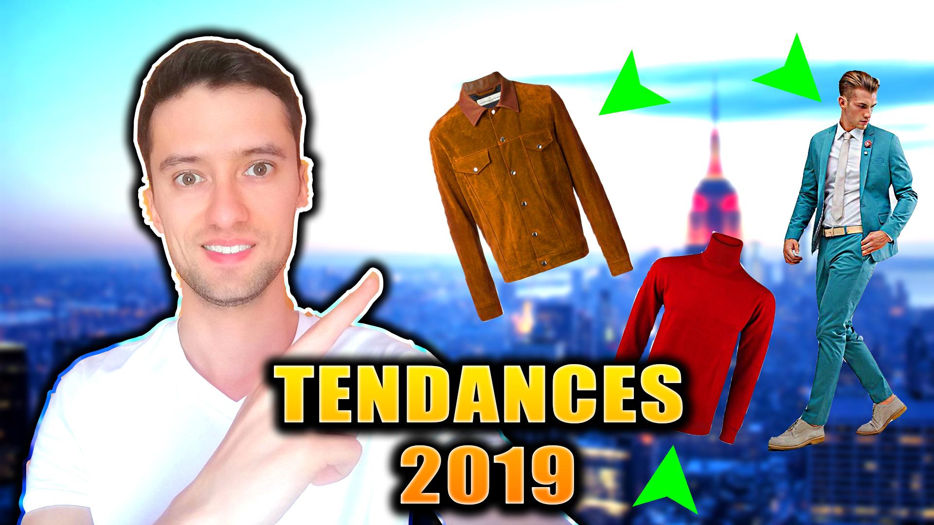 meilleures tendances mode 2019 homme