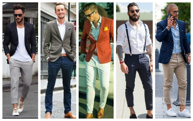chino pour hommes